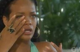 Rihanna Cries to Oprah Winfrey