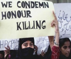 condemn Honor killing