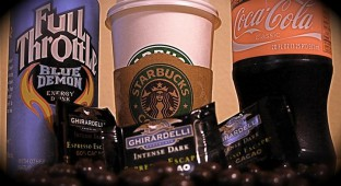 caffeine. kids