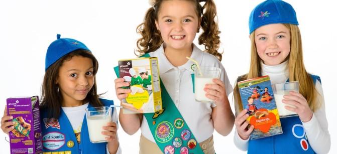 girl scouts got milk