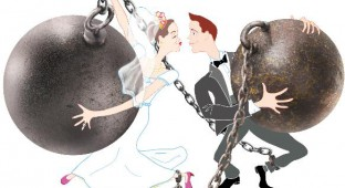 ball n chain marriage