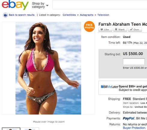 Farrah bikini