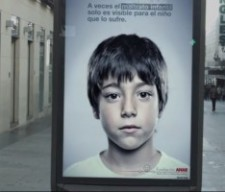abused child ad Spain