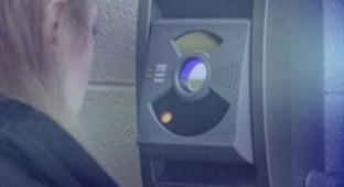eye scanned