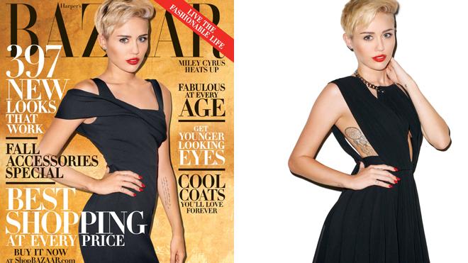 Miley Cyrus Harper's Bazaar handout 660