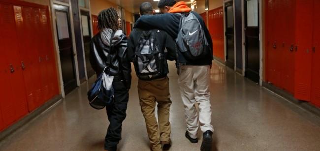 mex black students  school