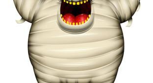 111111111111111111111111111111111111 fat halloween mummy