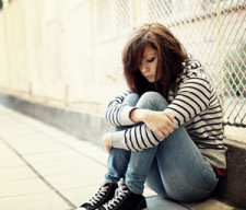 Depressed Teen Girl