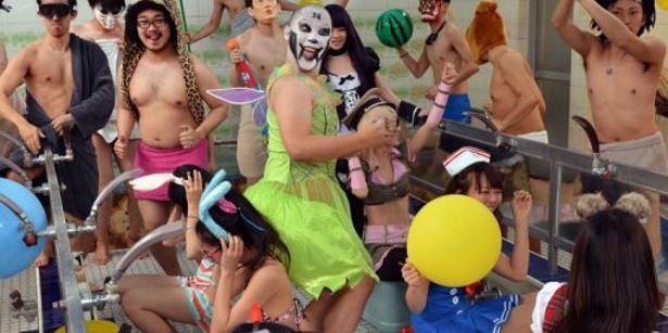 japan KIDS TEENS harlemshake-afp