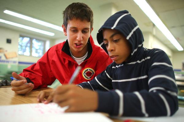 students help urban