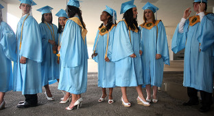 Rural Louisiana Town Celebrates High School Graduation
