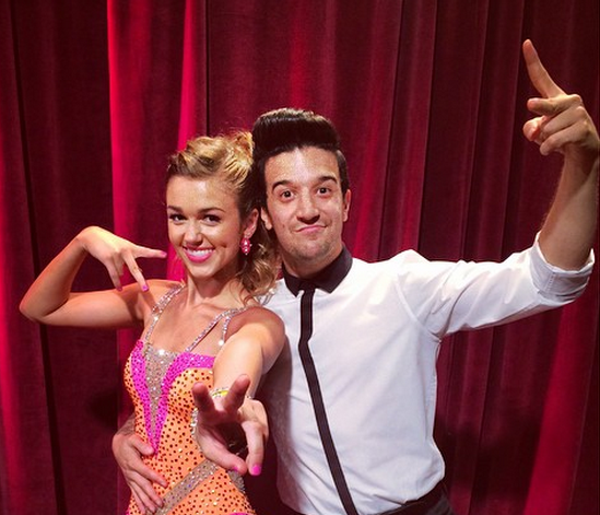 Sadie-Robertson-and-Mark-Ballas-Dancing-with-the-Stars