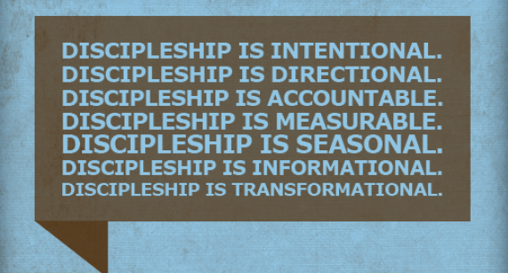 Discipleship Is
