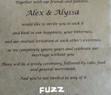 bride-tells-off-parents-in-best-wedding YOUTH CULTURE
