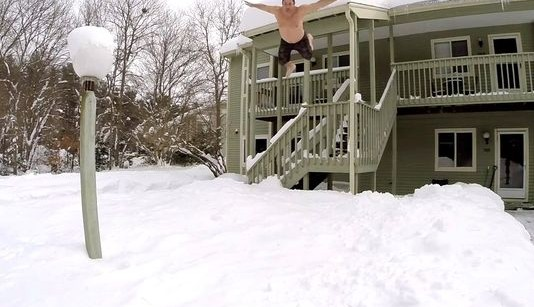 snow jump risk n reward youth culture