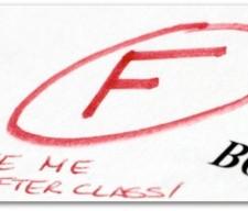fail class