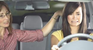 anxious teen driver