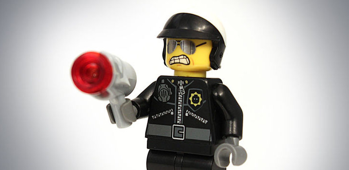 Police lego