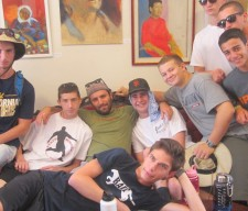 youth group teen boys