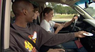 teen driver car