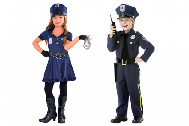 girl_boy_cop HALLOWEEN HO