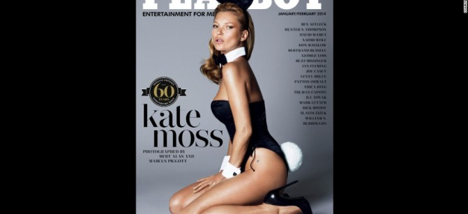 kate moss playboy gone...