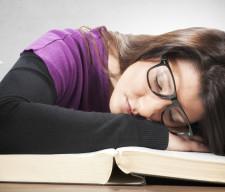 Tired female