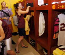GIRLS LOCKER ROOM SPORTS