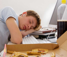 sleep Student boy