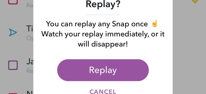 SNAP Replay