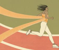 run sports BREASTS
