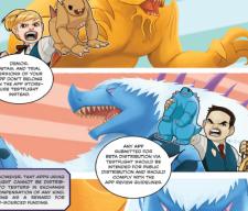 apple comic book