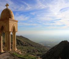 cross nineveh iraq assyrian