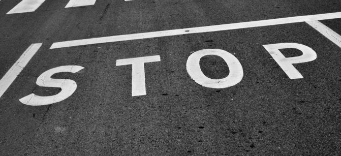 stop-sign leadership direction