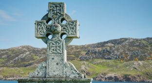Celtic-Cross-ireland ST PAT CHURCH