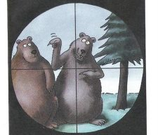 Target bear leader