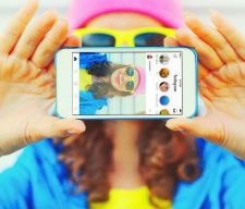 Selfie social media culture cell