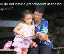 Grandparents girl