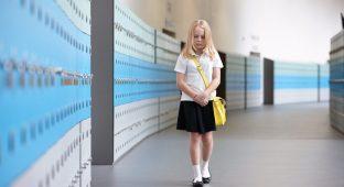 School girl bullied