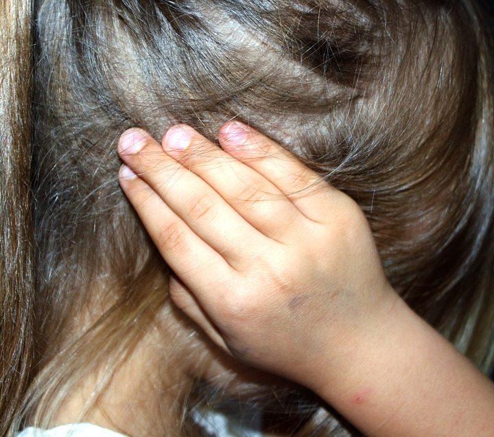Child sad bully abuse