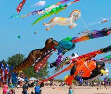 Out side fun kite
