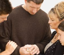 Parents pray family