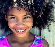 Children's ministry smile  kid girl