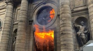 St sulp church fire