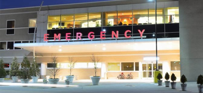 er emergency room hospital