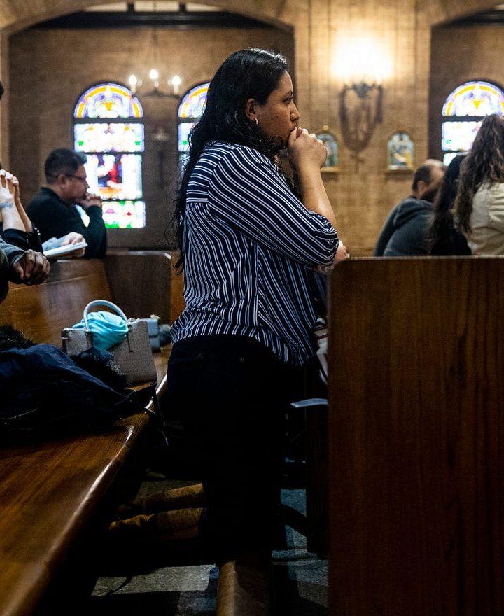 Church pray