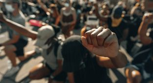 Blm black protest