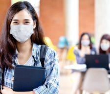Teen mask school