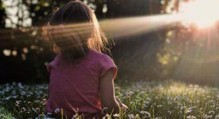 Kid nature girl