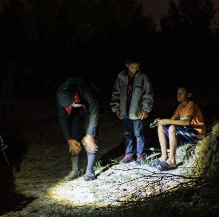 Border patrol kids children